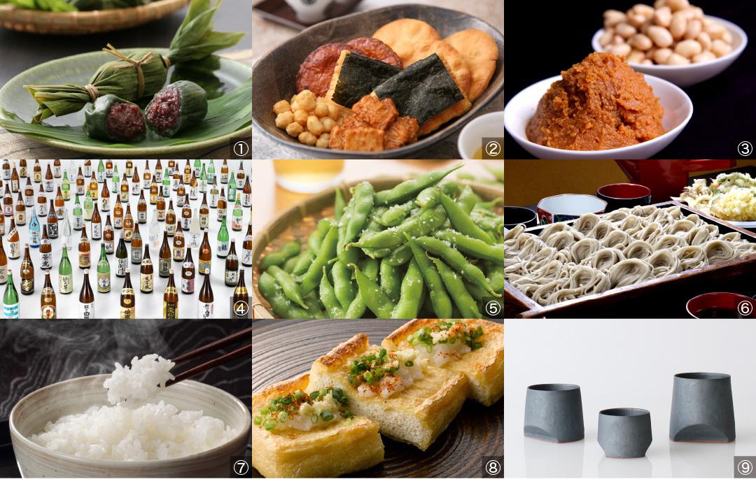 新潟ならではの食の魅力をたっぷりこめて、定番から地元ならではの味まで約1,100商品を販売。