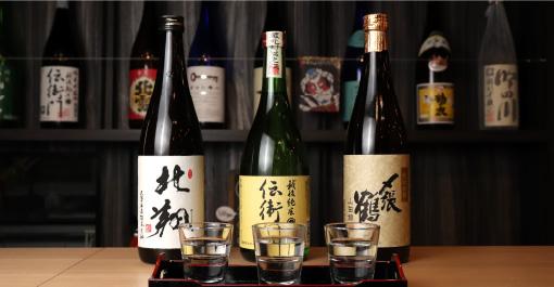 新潟清酒飲み比べセット(3杯、600円~)新潟清酒(1杯、450円~),100商品を販売。